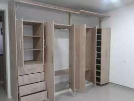 Se fabrica todo tipo de mueble en RH y madera