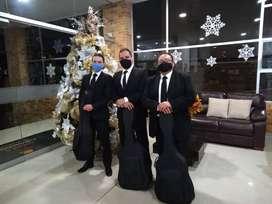 Trio serenatas Bogotá- Trio Brandon- Trio Musical- Serenatas de Cuerda