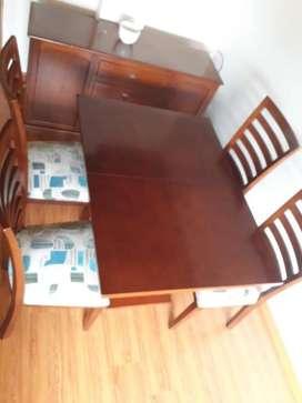 Venta de muebles por motivo de viaje