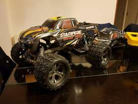 Traxxas Stampeede Vxl Brushless Y Extras