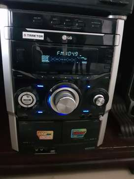 equipo sonido lg mp3 cd cassett