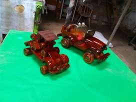 Carros de Madera Antiguos restaurados