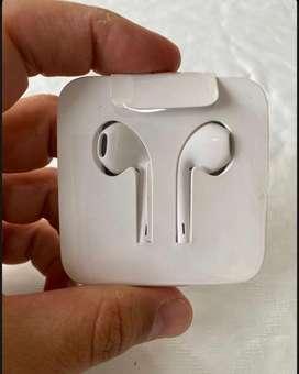 Audifonos Earpods Apple Iphone 7 8 X Xr Xs Lighting Ipad Ipod Original