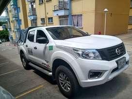 Se vende Nissan frontier modelo 2019 placa blanca