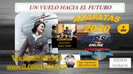 VOLANDO HACIA EL FUTURO CURSO DE AZAFATAS ONLINE PRESENCIAL DE AVIACION