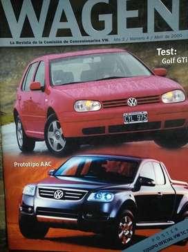 Revistas 4  Wagen 1999 2000 /2 C/u Perfe