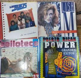 Promoción música vinilos LP 4 X $25.000