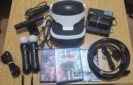 Casco Realidad Virtual - VR4 Sony - PS4