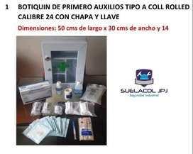 Botiquines Metalicos, Especial Para Empresas, Industria, locales Hogares by Suelacol