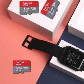 Memorias A1 Sandisk Original Celular Tablet Camaras Sellado