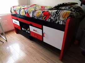 Linda cama escritorio