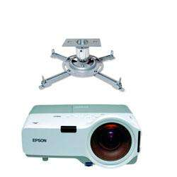 soporte tv de techo video beam