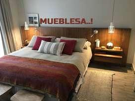 CAMAS LINEALES CON VELADORES INCLUIDOS ...MUEBLESA