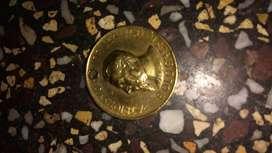antigua medalla del servicio milita- 1977-Peru