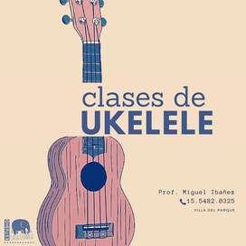 Clases de ukelele ON LINE