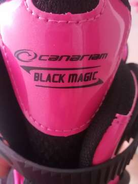 Patines Semiprofesionales Canariam Black Magic