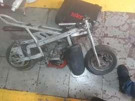 Vendo mini moto armar