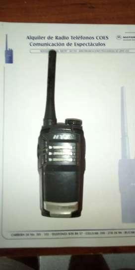 Alquiler de radiotelefonos