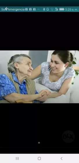 Cuidadora del Adulto Mayor
