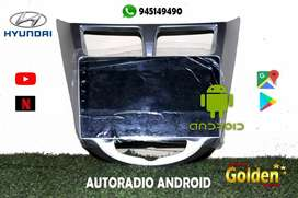 Autoradio android hyundai accent
