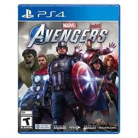 avengers marvel ps4 nuevo