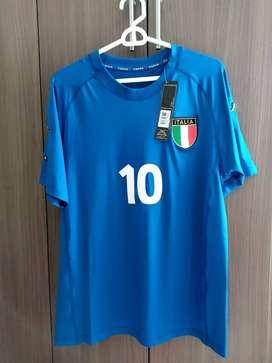 Camiseta Italia Euro 2000 #10 Del Piero