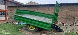Carreta para tractor
