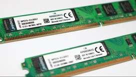 KINGSTON DDR2 2GB BUS DE 800 MHZ memoriaa ram para PC