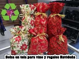 Bolsas de Tela para Detalles Y Vino