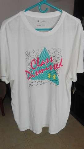 Camiseta Under Armour Nueva Original Talla XL