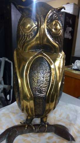 Vendo buho en bronce