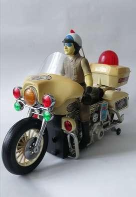 Motocicleta juguete clásico