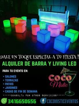 Barras Y Living Led