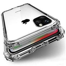 Case Funda p/ Iphone 11 11 pro 11 Pro Max Reforzada Transp