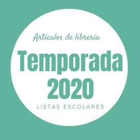 Listas Escolares 2020
