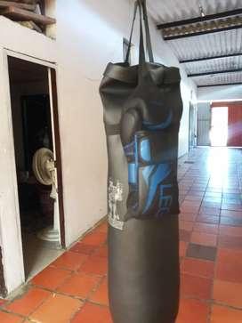 Saco+guantes de boxeo (legion)