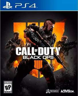 Call Of Duty Black Ops 4 Playstation 4 Ps4, Físico