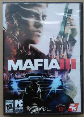 Mafia III para PC, DVD rom original, video juego de de colección para computador