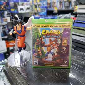 Crash trilogía xbox one
