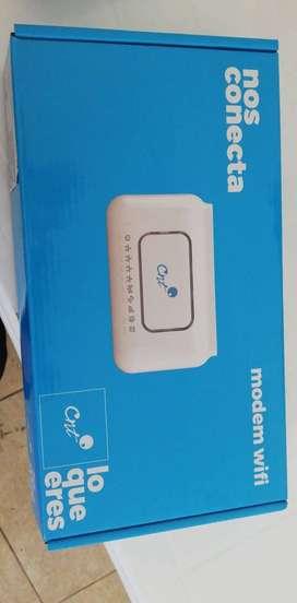 Router internet CNT tipo cobre para casa