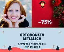 Ortodoncia brackets convencionales