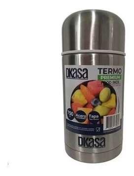 Termo Alimentos 750 ml Dkasa Acero Inoxidable