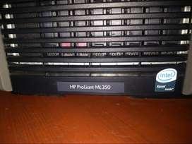 Servidor HP Proliant ML350 de 5 generación