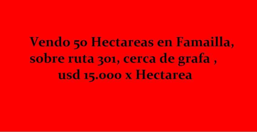 VENDO 50 HECTAREAS EN FAMAILLA 0