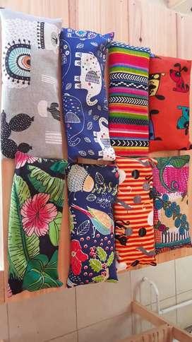 Almohadillas terapéuticas de lavanda y lino