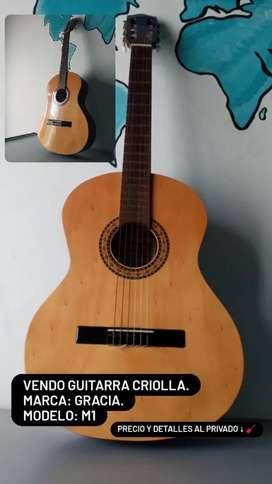 Guitarra Criolla Marca Gracia