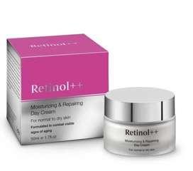 Retinol ++ Dia crema formulada para combatir visibles signos de la edad