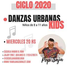 Danzas Urbanas Kids en Quilmes Oeste
