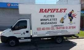 Fletes y mudanzas Rapiflet