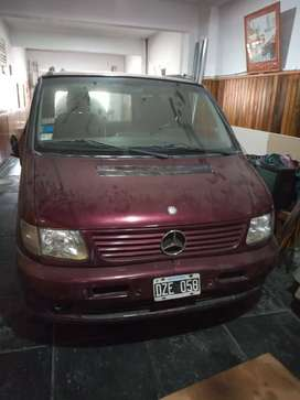vendo mercedez benz viano 2002